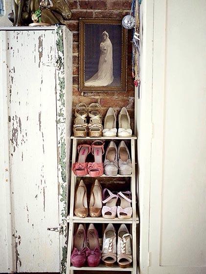 复古鞋柜摆放图片大全