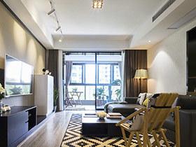 140平现代简约风格三居室装修 享受当下
