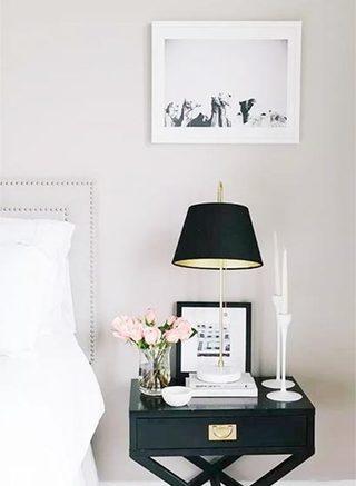 卧室简易床头柜图片大全