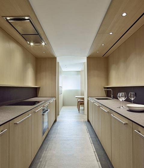 极简风现代公寓厨房效果图