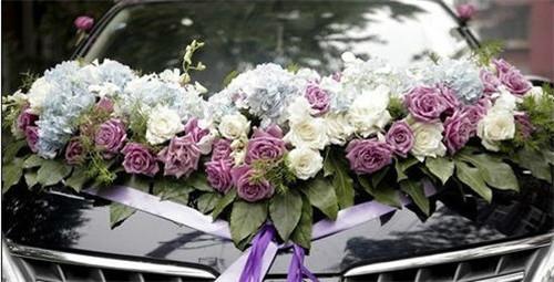 婚车怎么扎花 婚车装饰用什么鲜花好_婚庆服务