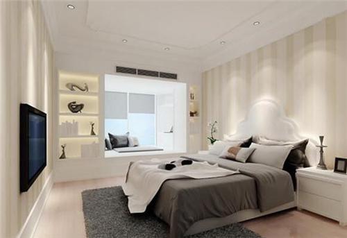 硅藻泥装修效果图环保时尚硅藻泥卧室装修