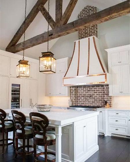 厨房砖墙背景墙设计图