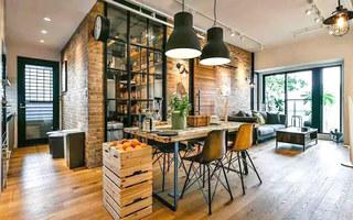 75平小二居装修餐厅效果图