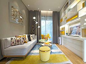 49平现代简约风格学区房装修 弥漫文化气息
