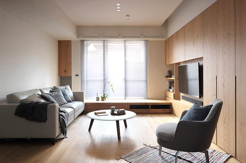简约风格二居客厅设计