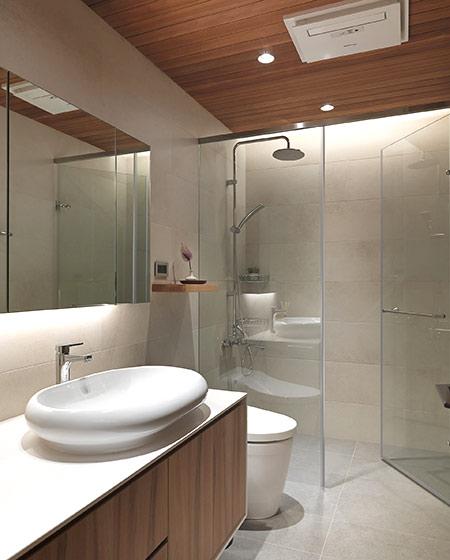 简约风格二居室装修淋浴房设计