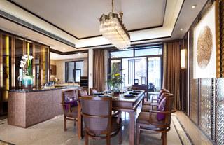 365平新东南亚风格餐厅装饰图