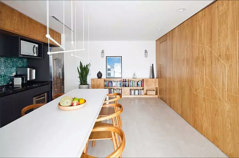 50平小户型一居餐厅装修设计