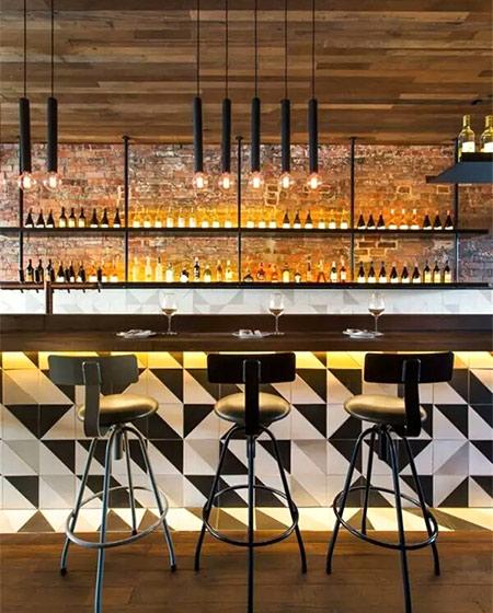 现代风格酒吧吧台装修