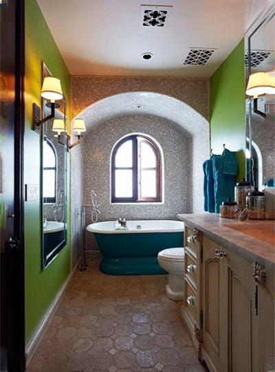 美式卫生间设计构造图