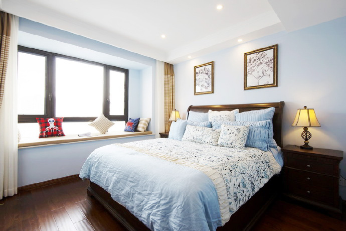 简约卧室设计装饰平面图