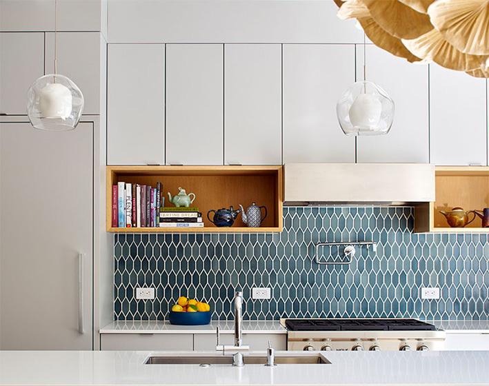 厨房墙面砖布置摆放图