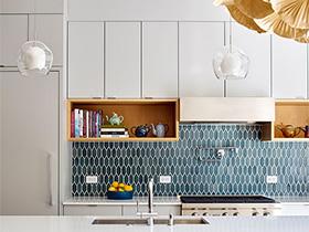好美食要有好背景  10款厨房墙面砖实景图