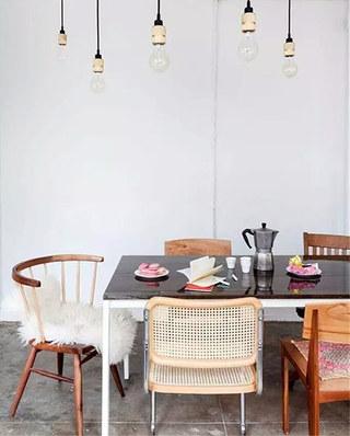 混搭风格餐椅效果图设计
