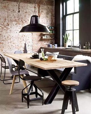 混搭风格餐厅餐椅装修图