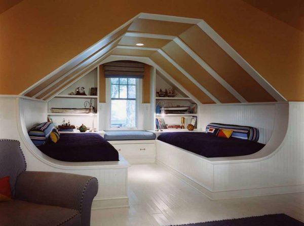 阁楼卧室设计参考图