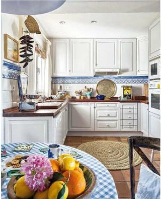 美式厨房设计实景图片