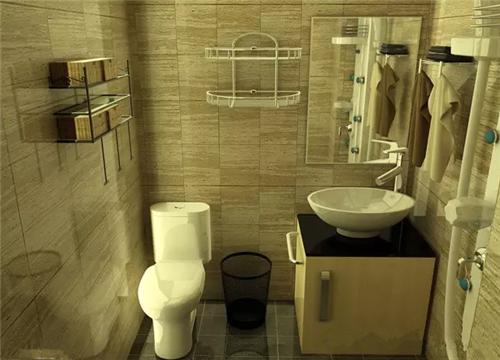 小卫生间装修效果图 小户型变出精致大空间