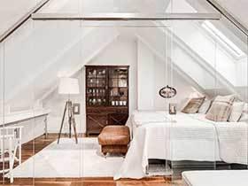阁楼的小秘密  10款阁楼卧室设计效果图
