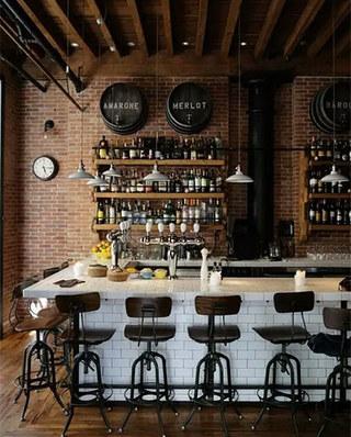 酒吧吧台装修装潢效果图
