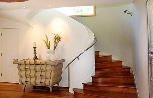 小复式楼梯装修效果图 小户型复式楼梯装修样板房