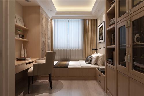 三室一厅装修效果图 10万打造现代简约素色空间