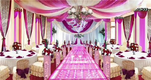婚礼现场图鉴赏 如何布置婚礼现场