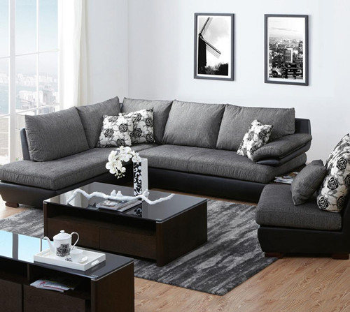 灰色沙发搭配沙发垫_灰色沙发配什么颜色的沙发垫和茶几 效果图怎样-克拉玛依人人 ...