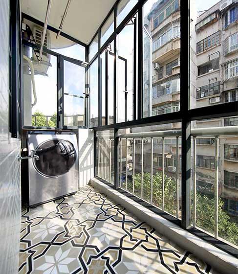 100平米装修阳台图片