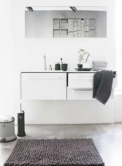 北欧风洗手台设计平面图