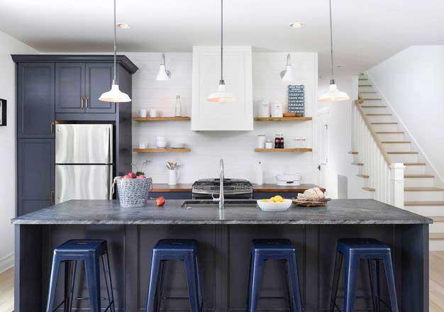 开放式厨房设计装修图