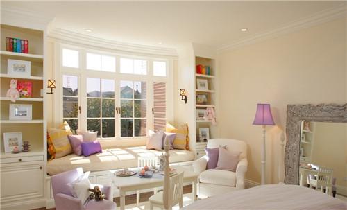 主卧带飘窗装修效果图 巧用飘窗为主卧增添色彩