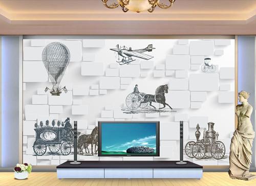 正文  电视墙墙纸的多样化完全符合家庭中的装饰,对于简约的北欧风格图片