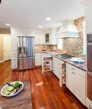 开放式厨房造型设计图