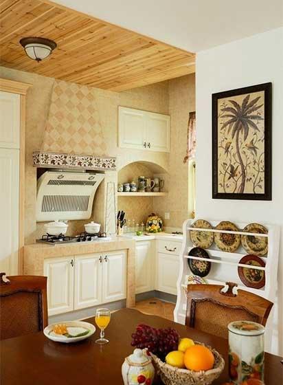 厨房造型装修效果图