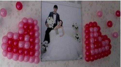 结婚房间气球布置图片 如何用气球布置结婚房间图片