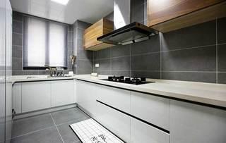 90平米简约风厨房设计效果图