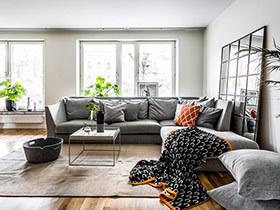 北欧风格装修二居室设计 光线让空间更灵动