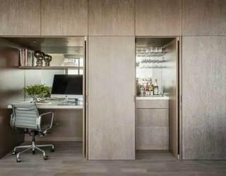 木制衣柜书房设计构造图