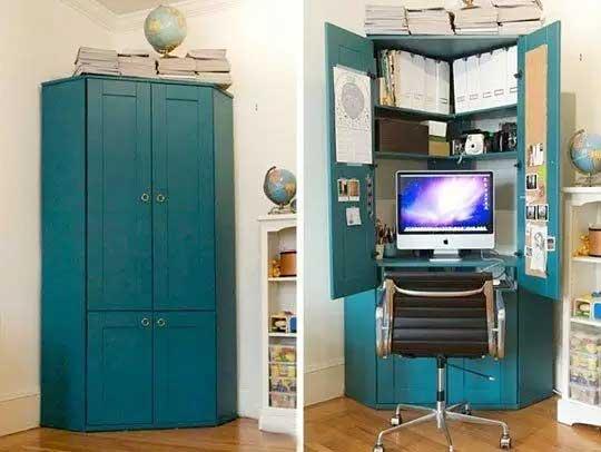 衣柜书房设计装修欣赏图