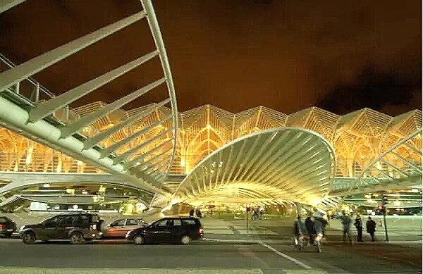 葡萄牙火车站外观设计图