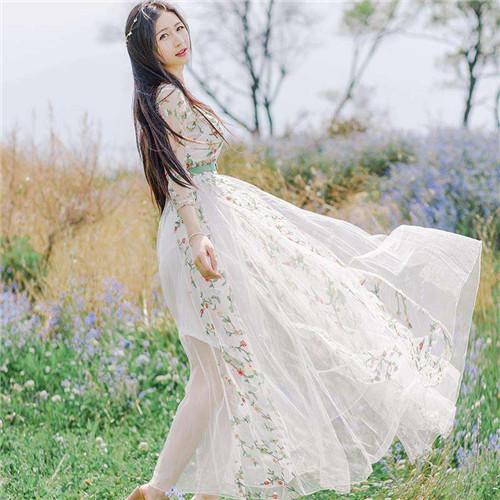 森女系婚纱照欣赏 森女婚纱照怎么拍图片