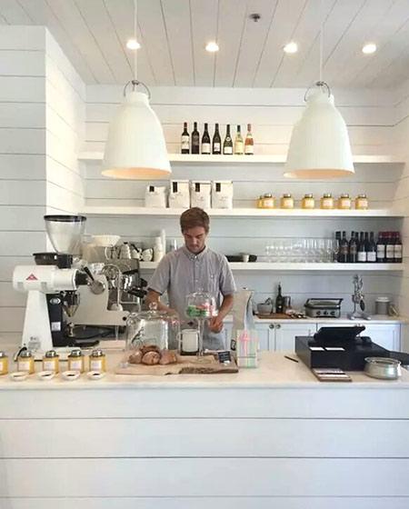 咖啡吧台装修效果图