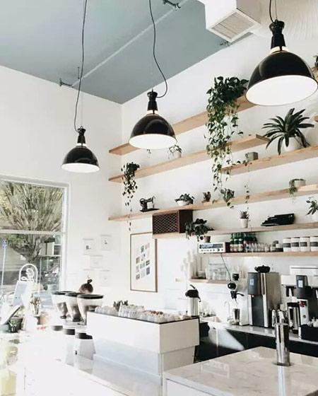小咖啡馆吧台设计装修效果图