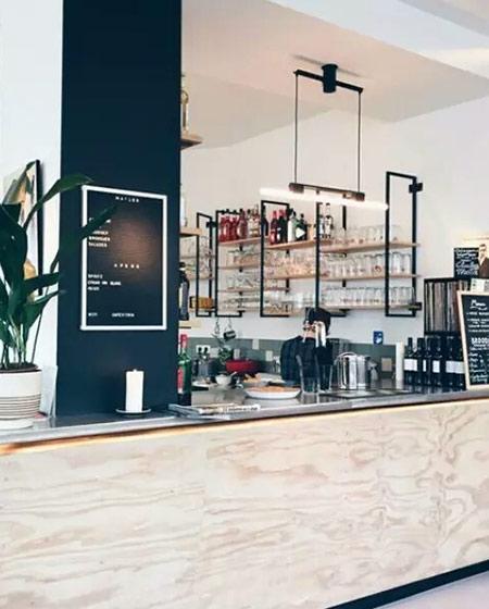 大型咖啡厅装潢效果图