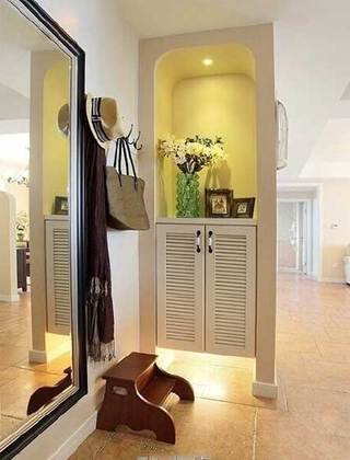 精美玄关柜设计布置图