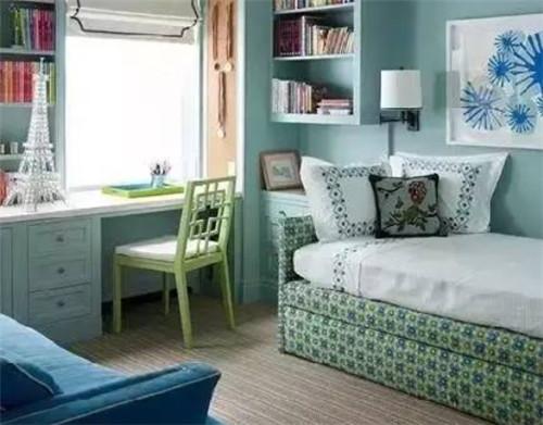 6平米卧室装修效果图 如何把小卧室装出大空间的效果图片