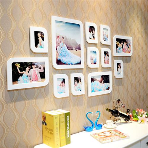 婚纱照照片墙效果图 照片墙摆放的禁忌