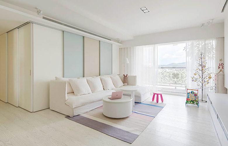 120平北欧风格三居客厅装修图-您正在访问第5页 装修效果图案例